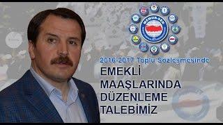 """Memur-sen Toplu SÖzleŞme 2016-2017 """"emeklİ MaaŞlarinda DÜzenleme"""""""