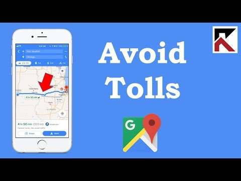 How To Avoid Tolls Google Maps iPhone