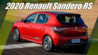 New 2020 Renault Sandero RS Overview