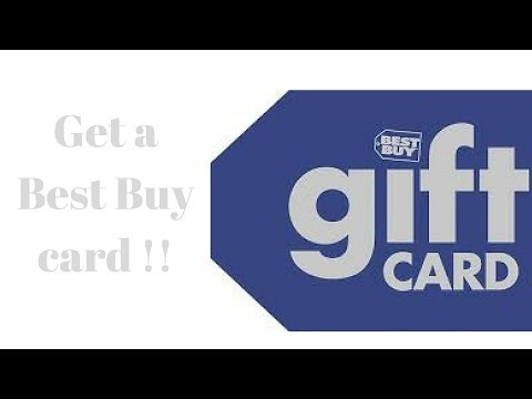 Get a Best Buy Gift Card