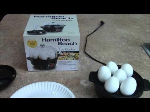 Hamilton Beach Egg Cooker Review