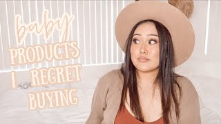 Baby Products I Regret Buying