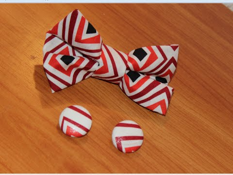Diy : how to make a bow tie