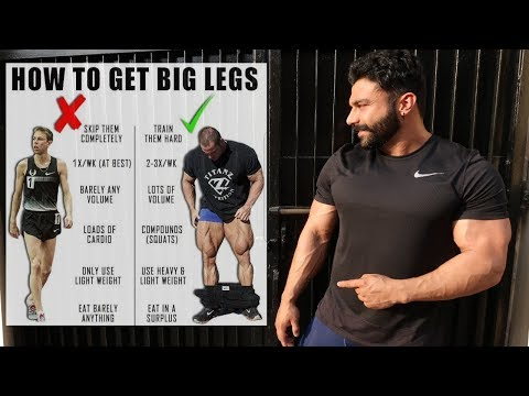 leg workout tips for mass(SKINNY LEGS)