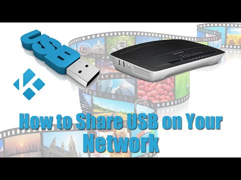 How to Share USB Content from your Router