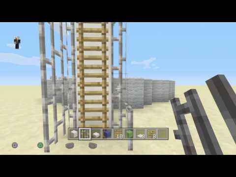 (MINECRAFT) how to make a diving board