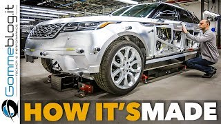 Range Rover VELAR Car FACTORY Production | HOW IT