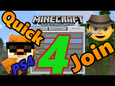 Minecraft PS4 - Quick Join 4 ;)