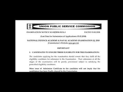 National defence acedamy requirements and Na online registration form...