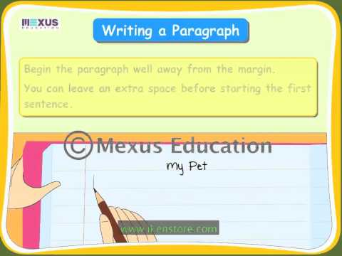 Writing a Paragraph Using an Outline