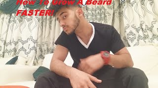 How To grow a BEARD Faster for Teens/ Why Can