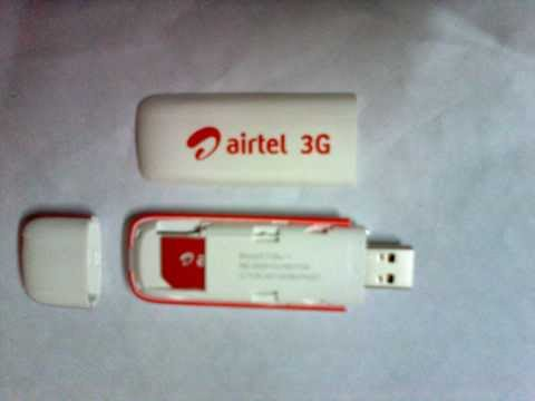 How to insert SIM card in Airtel 3G dongle