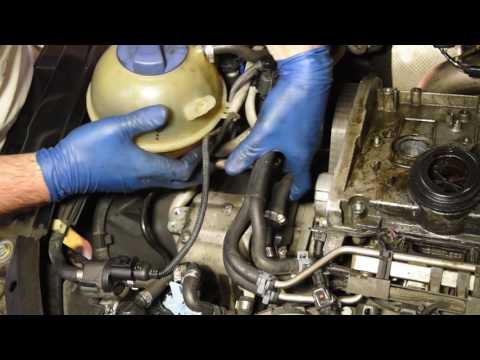 Replacing The Timing Belt on Audi/VW 1.8L Turbo Engine