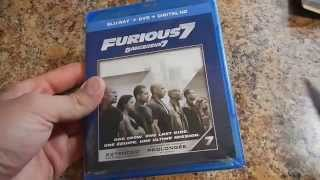 Furious 7 Extended Edition On Blu Ray,DVD And Digital HD