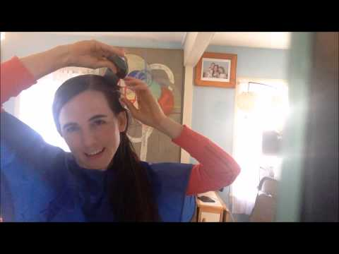 Removing Lice and Nits from my own head
