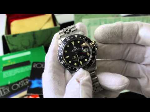 Rolex Oyster Perpetual GMT Master 16750 (7.2 Million Serial) Vintage Luxury Watch Review