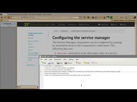 Zend Framework 3 tutorial 3: Service Manager Factory - User Repository example