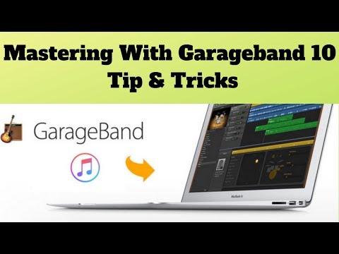 Mastering With Garageband 10 Tip & Tricks