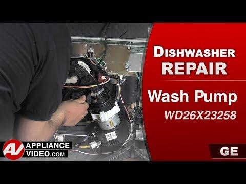 GE  Dishwasher - Wash Pump not functioning - Diagnostic & Repair