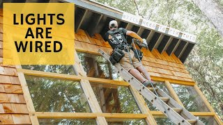 Ready for Electric inspection...😬 - Cabin Build Ep.37