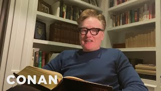 Conan Reads A Bedtime Story - CONAN on TBS