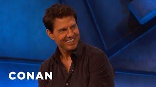 "Tom Cruise: ""Top Gun: Maverick"" Is A Love Letter To Aviation - CONAN on TBS"