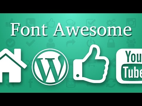 How To Add Font Awesome Icons To WordPress