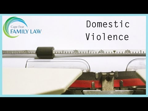 Domestic Violence Summons in North Carolina - Filing Yourself