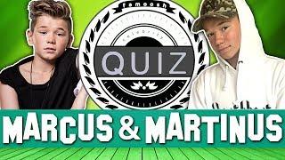 ΠΟΣΟ ΚΑΛΑ ΞΕΡΕΙΣ ΤΟΥΣ MARCUS & MARTINUS? (part 2) - QUIZ 💭
