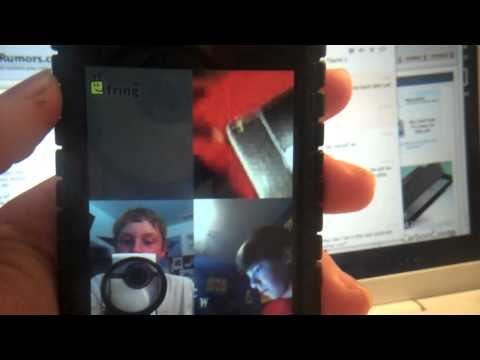 Group FaceTime! On iPhone 4, iPod touch 4G, and Android!