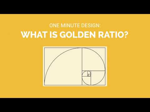 One Minute Design: What is Golden Ratio?