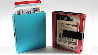 TOP 5 Amazing & Futuristic Wallets Every Man Must Have