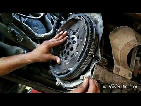 Laura Dual Mass Flywheel and Clutch Assembly replacement
