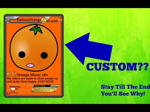 How To Make A CUSTOM Pokemon Card!!!! (Stay Till End!)