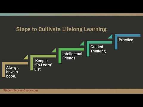 Cultivating Lifelong Learning