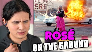 Vocal Coach Reacts to ROSÉ - 'On The Ground' M/V