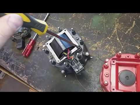 How to change a coil cap and rotor on a GM HEI  distributor
