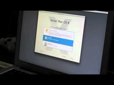Installing Mac OS Lion beta on a 2010 Macbook Air with a USB Flash drive