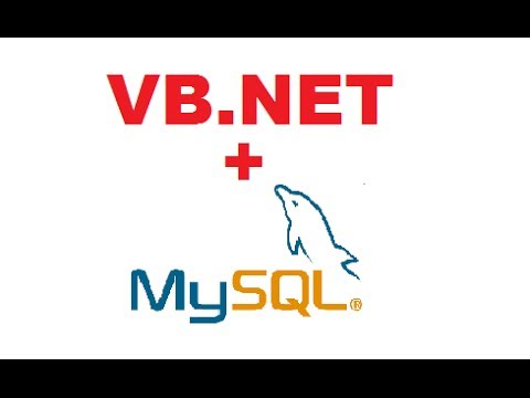 MySQL VB.NET Tutorial 1 : Getting Started and Mysql database Connection
