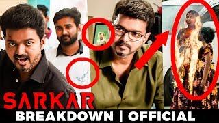 Sarkar Official Teaser - POLITICAL BREAKDOWN | Thalapathy Vijay | A.R Murugadoss | TK
