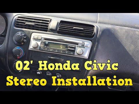 2002 Honda Civic - Stereo Installation