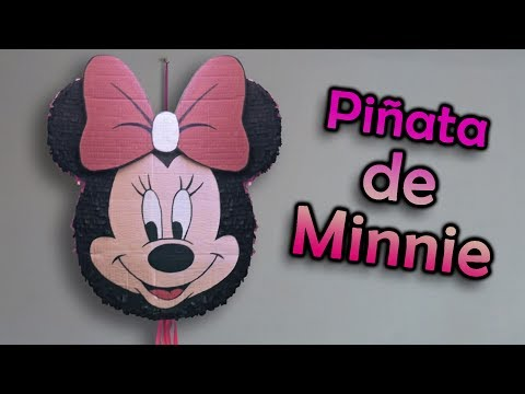 Piñata de Minnie Mouse