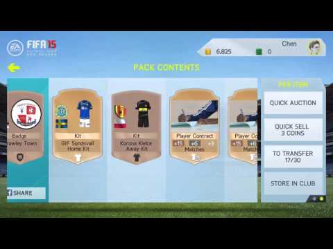 FIFA 15 iOS Road To Division One - 4 - How To Make Money Fast In FIFA & Weird Bug