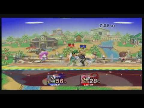 SSBB:BKING (Luigi) VS Good (Toon Link) *Get it ?*