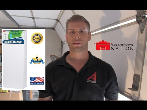 Garage Door Insulation Kit [DIY Tutorial] Save $$$ (2017 UPDATE)