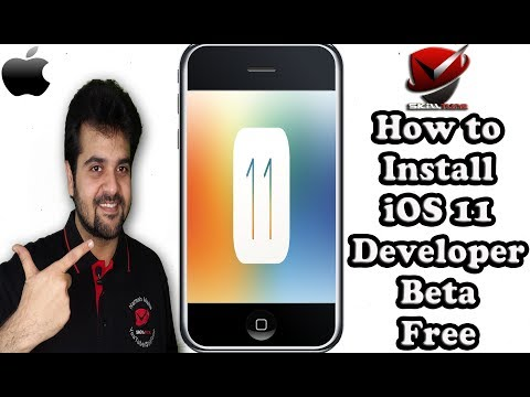 How to Install iOS 11 Developer Beta for Free Without PC | Step By Step Guided Tour | iOS 11