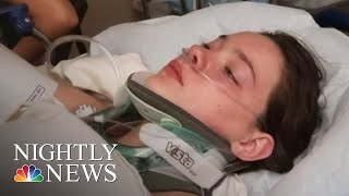 Washington Teen Who Pushed Friend Off Bridge Charged With Reckless Endangerment | NBC Nightly News