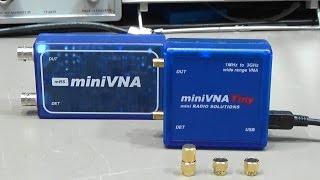 OSL calibration of RF VECTOR IMPEDANCE ANTENNA ANALYZER AAI