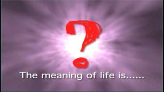 The Meaning of Life Part One