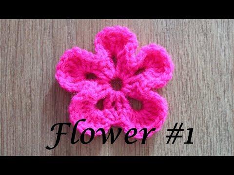 Simple Flower - Embellishment #1